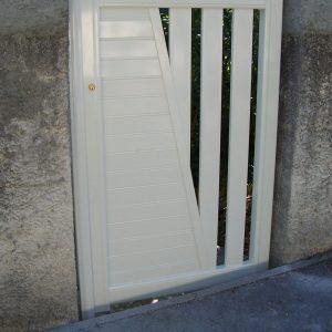 Portail 1 vantail (portillon)